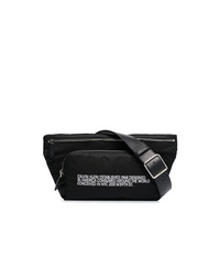 Calvin Klein 205W39nyc Black Ck Address Print Belt Bag
