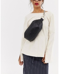 ASOS DESIGN Sling Bag With Chain Detail