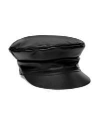 Lack of Color Biker Leather Cap