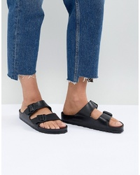 Birkenstock Arizona Eva Black Flat Sandals