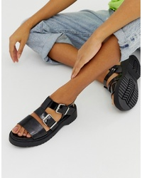 ASOS DESIGN Fate Chunky Flat Sandals