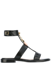 Fendi Hanging Love Charm Sandals