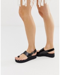 ASOS DESIGN Judie Toe Loop Espadrille Sandals