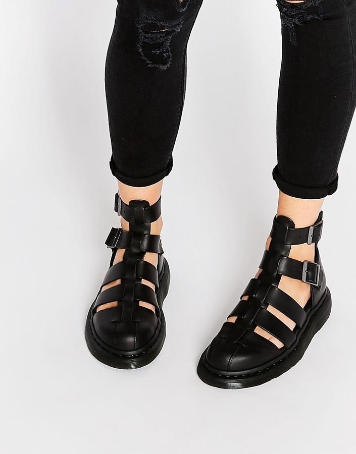 3faa9e20467 ... Dr. Martens Dr Martens Shore Reinvented Gladiator Geraldo Ankle Strap  Sandals ...