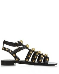 Balenciaga Giant Studded Leather Gladiator Sandals