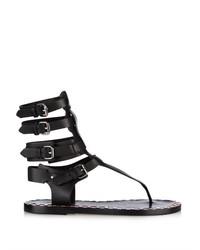 Isabel Marant Jeepy Gladiator Leather Sandals