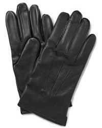 J.Crew Cashmere Lined Leather Touchscreen Gloves