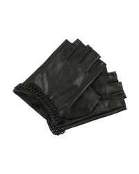 Fingerless gloves black medium 4138680