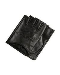 Fingerless gloves black medium 4138683
