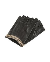 Karl Lagerfeld Fingerless Gloves Blackgold