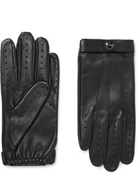 Fleming perforated leather driving gloves medium 806323