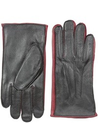 Izod Contrast Leather Touchscreen Glove