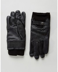 French Connection Leather Gloves