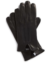 Nordstrom Shop Perforated Leather Gloves