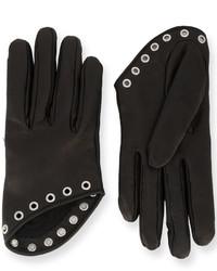 Alexander McQueen Short Embellished Gloves