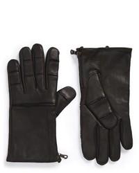 John Varvatos Star Usa Deerskin Leather Gloves