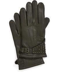 John Varvatos Star Usa Studded Leather Glove