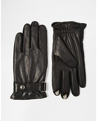 Totes Leather Gloves With Smart Touch