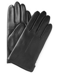 A.P.C. Wool Lined Leather Gloves