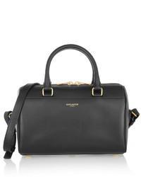 Saint Laurent Classic Duffle Mini Leather Bag Black
