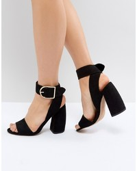 ASOS DESIGN Asos Hold Tight Heeled Sandals