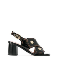 Derek Lam Cross Strap Heeled Sandals