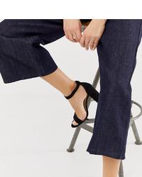 Pimkie Heeled Sandals In Black
