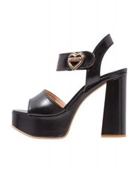 Moschino High Heeled Sandals Nero