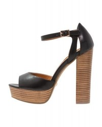 Primadonna Collection Platform Sandals Nero