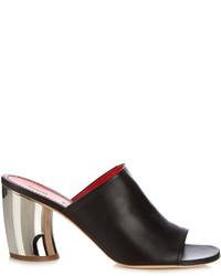 Proenza Schouler Leather Block Heel Sandals