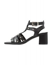 New Look Stem Sandals Black