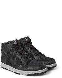 pretty nice 3589a 9085b ... Nike Dunk Cmft Premium Leather And Suede High Top Sneakers