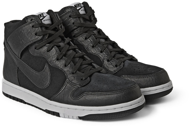 newest 68805 fc057 Nike Dunk Cmft Premium Leather And Suede High Top Sneakers, £95   MR ...