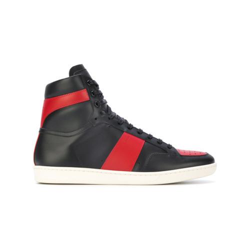 94ccd5b7b68 Saint Laurent Signature Court Classic Sl10h High Top Sneakers, £441 ...