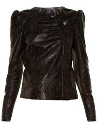 Isabel Marant Connie Laser Cut Leather Jacket