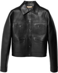 Michael Kors Michl Kors Bonded Leather Jacket