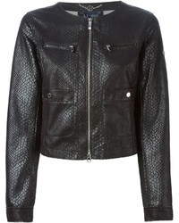 Armani Jeans Snakeskin Effect Jacket