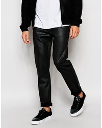 Lee Jeans Arvin Slim Tapered Fit Black Shine Coated