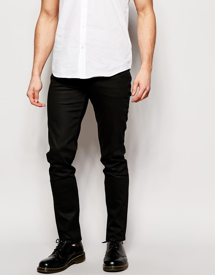 Jeans Friday Skinny Fit Black - Black Weekday