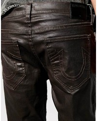 5a30ecda8 ... True Religion Jeans Rocco Slim Fit Leather Look Coated