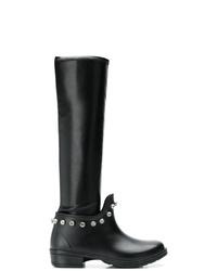 Marco De Vincenzo Embellished Knee High Boots