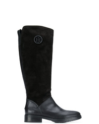 Tommy Hilfiger Monogram Riding Boots