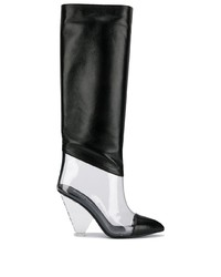 Balmain Pvc Knee High Boots