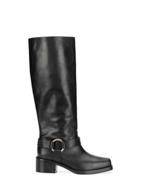 RED Valentino Red Harness Boots