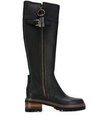 See by Chloe See By Chlo Side Zip Knee High Boots