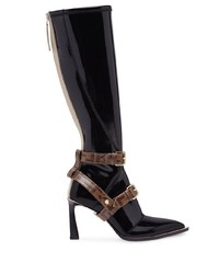 Fendi Stivale Glossy Effect Boots
