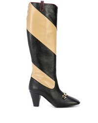 Gucci Striped Knee Length Boots