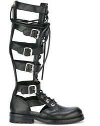 Diesel Black Gold Gladiator Boots