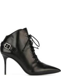 Giuseppe Zanotti Design Buckle Detail Ankle Boots