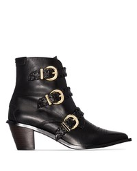 Reike Nen Buckled 60mm Ankle Boots